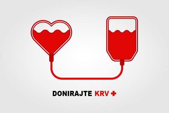Akcija dobrovoljnog darivanja krvi održati će se dana 14. i 15.09.2021. u prostorijama KIC-a od 09:00 – 16:30 h. Dođite i spasite nekome život