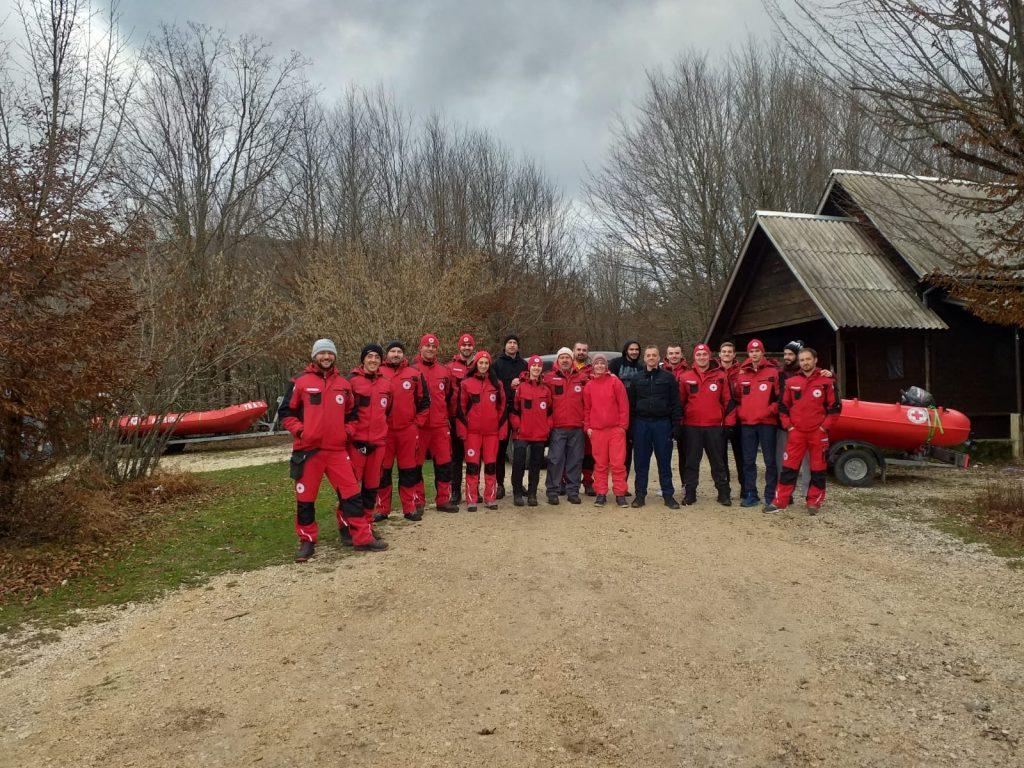 Održane vježbe i razmjena iskustva na terenu i plovilima na rijeci Lici